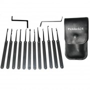 Vollmetall-Pickset (12 Picks)