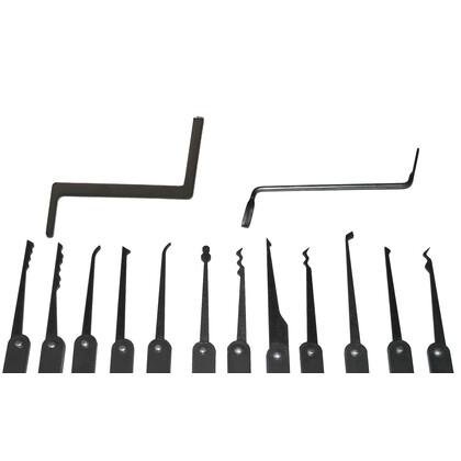 Acciaio Lock Picking Set (12 Picks)