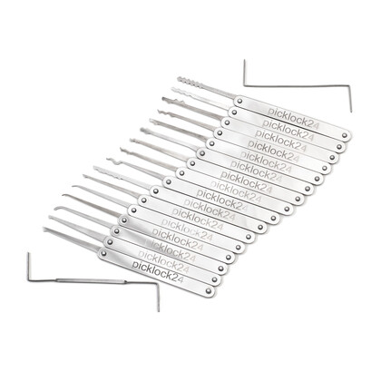 Picklock24 Pro Lock Pick Set XL (18tlg.)