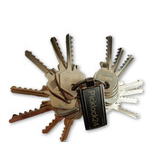 Bump key set Germany No. 2 (14 keys)