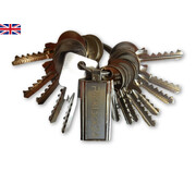 Bump key set United Kingdom (15 keys)