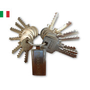 Bump key set Italy No. 1 (15 keys)