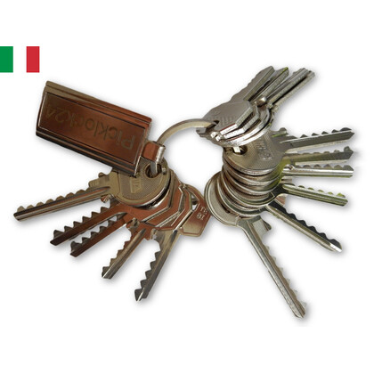 Bump key set Italy No. 2 (15 keys)