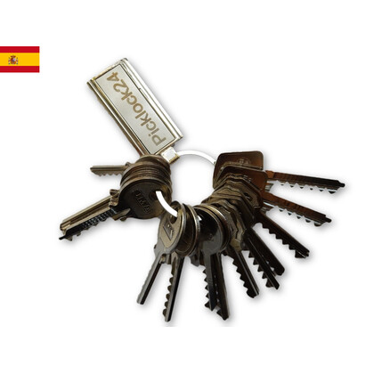 Bump key set Spain No. 2 (14 keys)